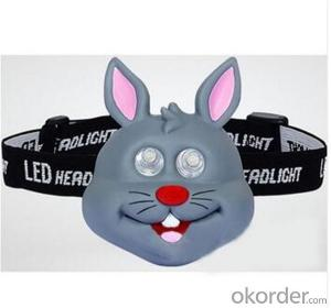 2015 New Arrivals Animal Head Lamp for Kids Gifts