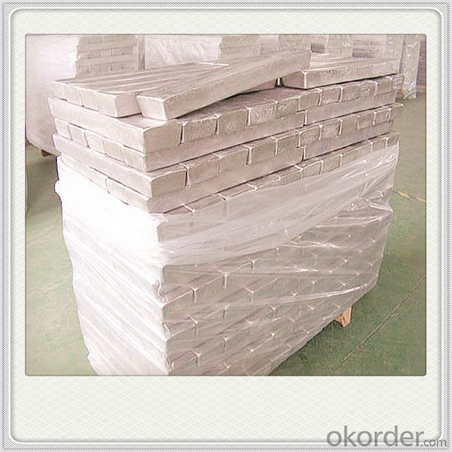 Magnesium Alloy Ingot Plate Good Quality Magnesium Metal Ingot