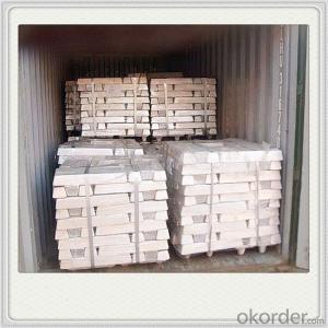 Magnesium Alloy Ingot Pallet Good Quality Magnesium Metal Ingot