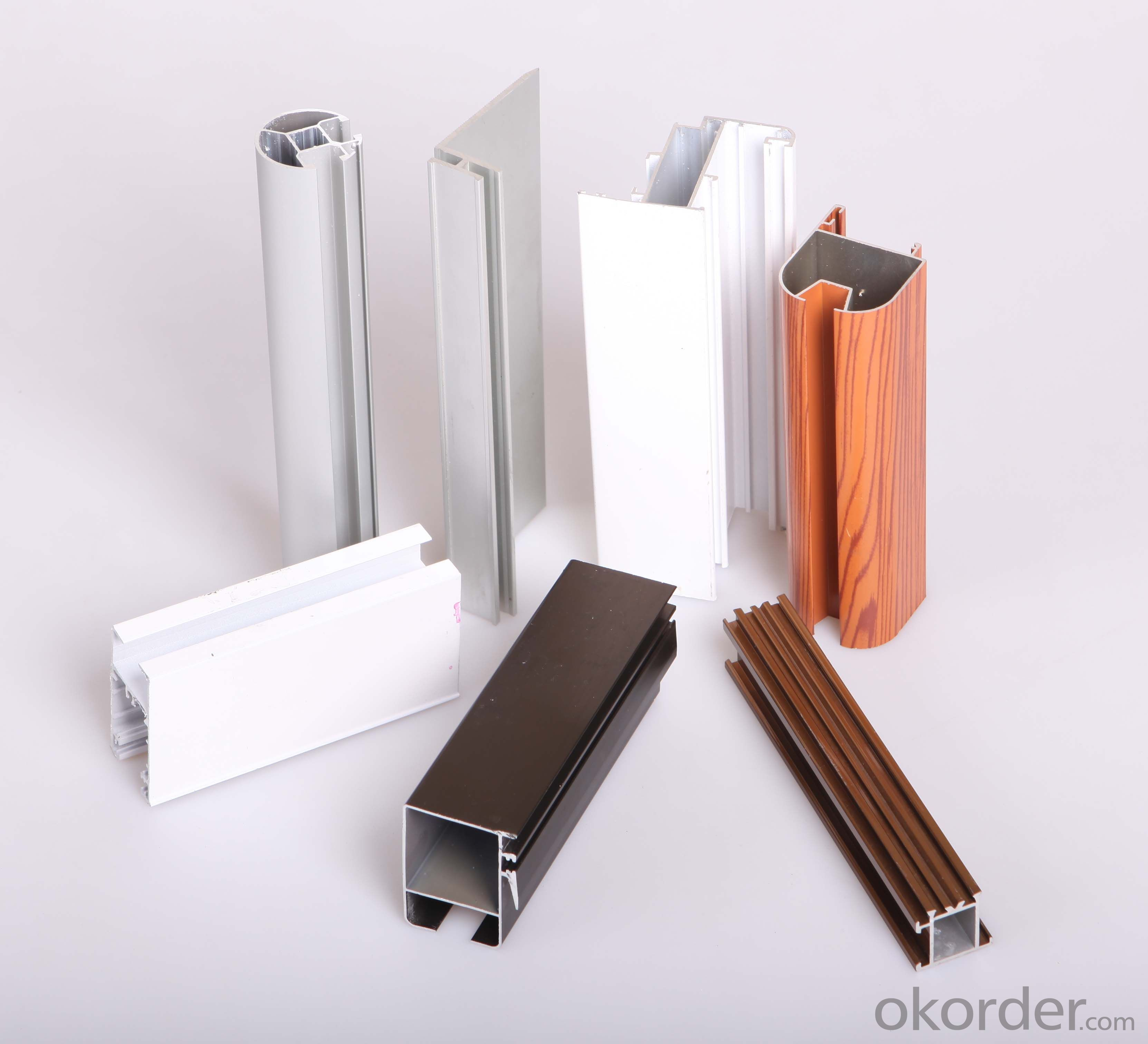 Aluminum Alloy Profile Extrusion for Windows and Doors Frame