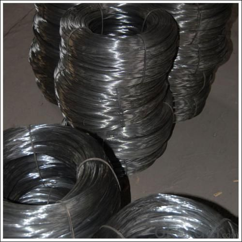 12 Guage Black Annealing Wire Iron Rod for Inida Market