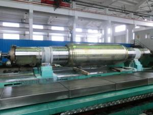 Work Roll for High Class and High Strength Plate Mill