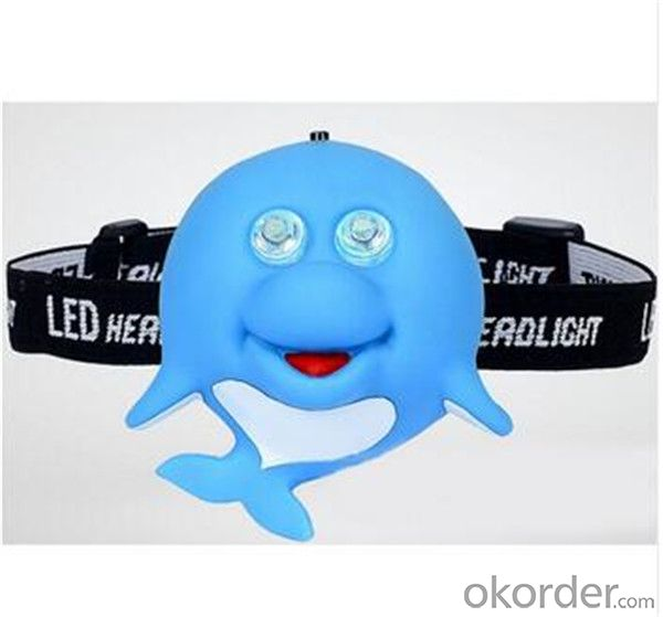 2 LED Animal Light for Child, LED Animal Headlight,Children Headlamp with Animal Shape