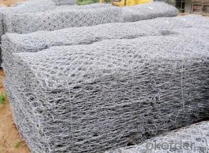 Hot Dipped Galvanized Gabion Box/Hexagonal Wire Mesh 1*1*1m