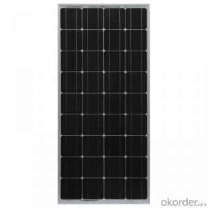 150wp Maximum Power Monocrystalline Solar Panel