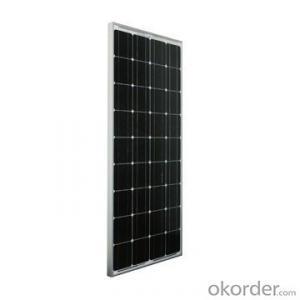 Used for off-Grid Solar System 12V 100wp Polycrystalline Solar Panels