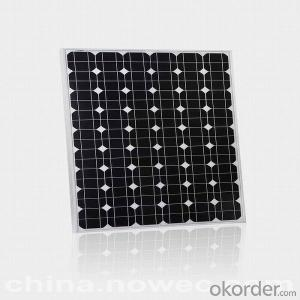 Mono Solar Panel with 100W Maximum Power Made in China