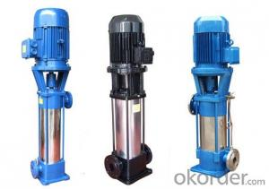 Vertical Multistage Stainless Steel 316 Centrifugal Pump