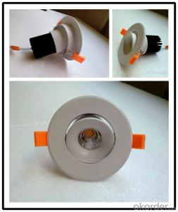 15w Ceiling Price Dimmable COB Led Downlight