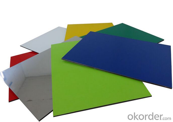 Exterior Wall Decoration Materials ACP Sheet with High Quality
