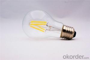 Led Filament Bulb High Brightness 2w 4w 6w 8w e27 UL with 2 Years