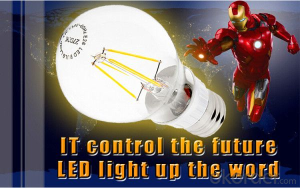 LED Filament Bulb Dimmable 2016 Newest Design 4W 6W 8W