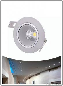 recessed led down light wholesale 3000k/4000k/6000k 40w round