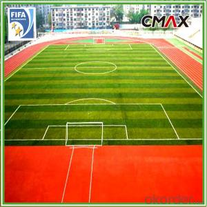 Soccer Football  Artificial Grass Turf CE Reach