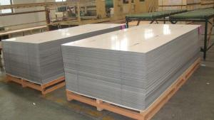 Plastic Film Coated Aluminum Sheet Hot-sale