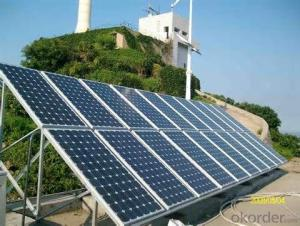 Polycrystalline  Solar Panels 20W 50W With High Efficiency