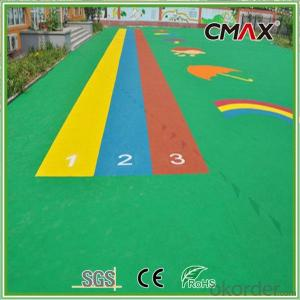 Colorful Artificial Turf for Kids of High Quality Body Friendly