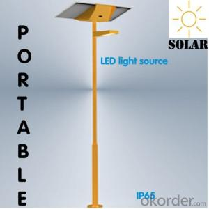 8W LED Solar Street Light, IP65, 3years Guarantee