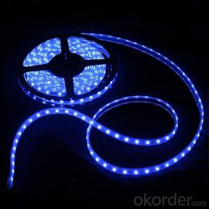 3528 SMD 16.4Ft 300LEDs/5M Single Warm White Color LED Strip Light Waterproof 60 LEDs/M