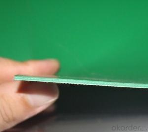 Diamond Pattern PVC Transmission Conveyor Belt In Industrial Use