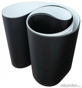 Black 1.8mm PVC Treadmill Conveyor Belt PVC Running Belt
