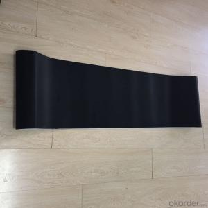 Black Treadmill PVC Conveyor Belt Black Walking Belt Fitness belt