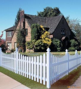 PVC Horse Privacy Fence for EU & USA Market