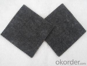 Non Woven Polyester Geotextile with Black Color