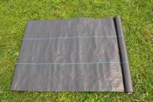 Woven Polypropylene Geotextile with Black Color