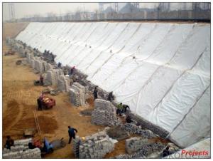 Non Woven Polypropylene Geotextile 3% UV Resistant
