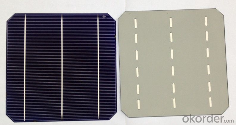 4.14W 3 BB A Grade Poly Solar Cell156mm with17-17.2% Efficiency approved by CE TUV