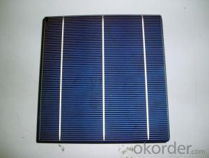 4.33W 3 BB A Grade Poly Solar Cell156mm with17.8-17.9% Efficiency approved by CE TUV