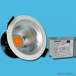 COB Led Downlight 20w cut-out 145mm citizen for 3 years warranty