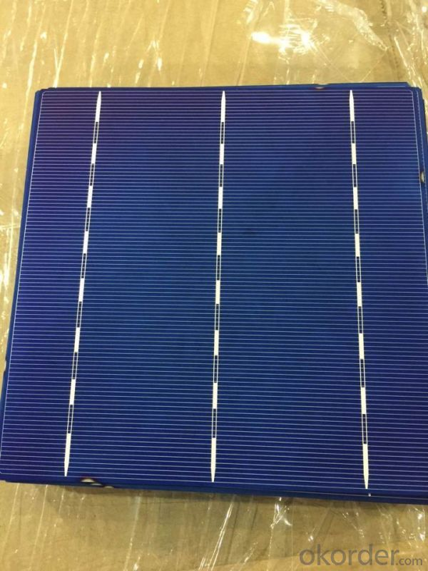 4.28W 3 BB A Grade Poly Solar Cell156mm with 17.6%-17.8% Efficiency approved by CE TUV