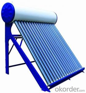 Color Steel Compact Non- Pressure Thermal Solar Heater