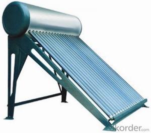 Coper Heat Pipe Solar Water Heater System