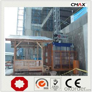 Building Hoist SC320 Single Cage Operate Handle