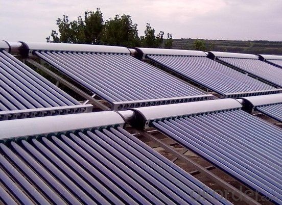 Coper Heat Pipe Solar Water Heater System