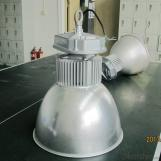 led high bay light 100w 120w 150w 200w with silver aluminum housing