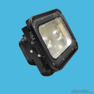 120W bridgelux cob led flood light with die-cast aluminum housing