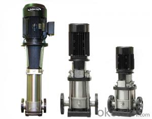 Vertical Multistage Centrifugal Pump Stainless Steel 304  High Quality