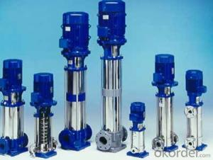 Vertical Multistage Centrifugal Pump Stainless Steel 304 Made in China
