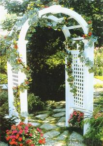 PVC Fencing with Standard Decorative Section Cap