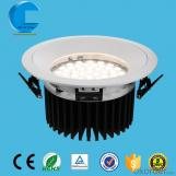 CREE led downlight 33W 43W 63W 84W with Mean Well driver use for high space illumination solution