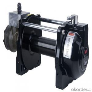 9000lbs Power Cable Winch 12v/24v, Roller Fairlead, Handheld Remote