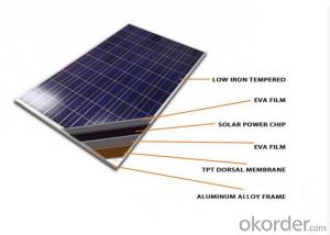 260 Watt Photovoltaic Poly Solar Panels supplier