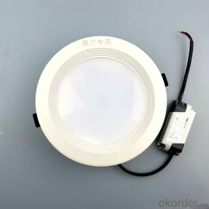SMD2835 led downlight cut-out 170mm with  die casting aluminum