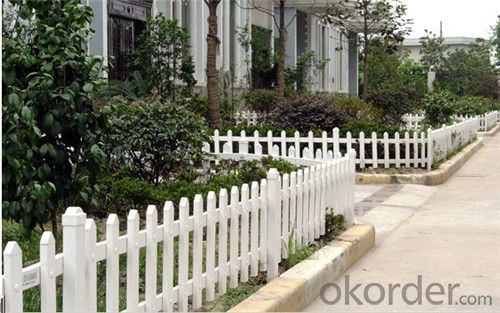 PVC Guardrail Fence for Swimming Pool Made in China