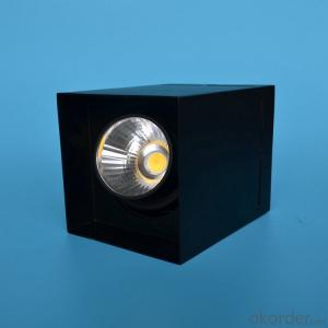 square surface mounted led cob downlight 7W/10W/15W/20W