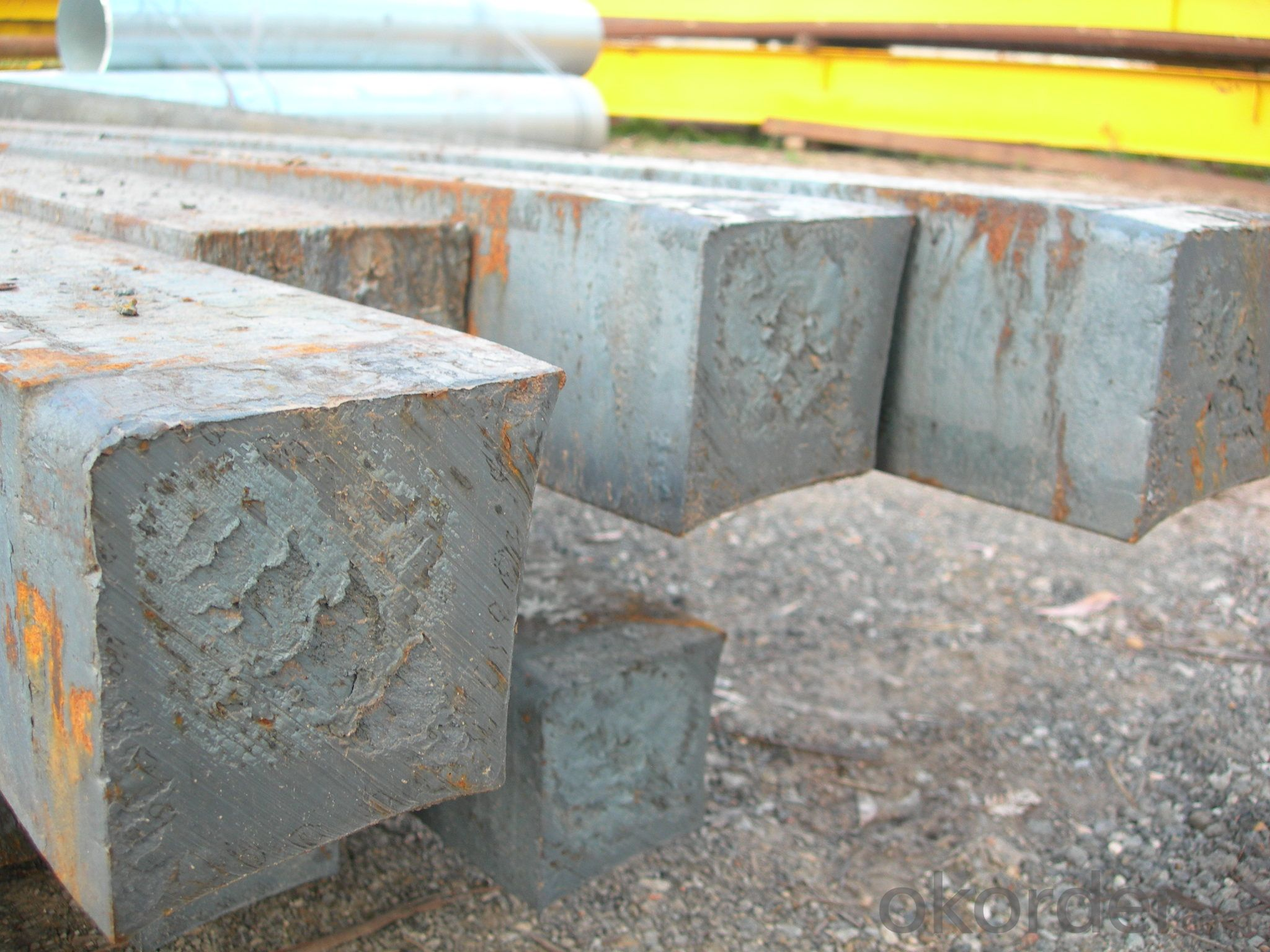 Hot Rolled Square Steel Billet 3SP Standard 140mm